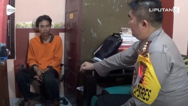 Seorang pria yang berprofesi sebagai kuli bangunan tega memperkosa anak tetangganya sendiri yang berusia 8 tahun.