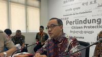 Plt Jubir Kemlu Teuku Faizasyah. (Liputan6.com/ Benedikta Miranti T.V)