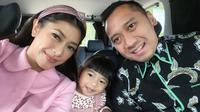 Aliya Rajasa , Gayatri Idalia Yudhoyono, dan Edhie Baskoro Yudhoyono (dok. Instagram @ruby_26/https://www.instagram.com/p/B7lBxeKAF-X/Putu Elmira)