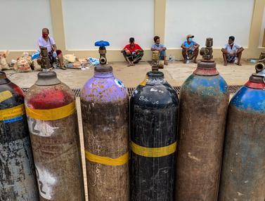 Putus Asa Mencari Pasokan Oksigen di Myanmar
