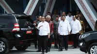 Gubernur Sumut Erry Nuradi mengapresiasi Presiden Jokowi atas perhatian pada pembangunan di Sumut. (Liputan6.com/Reza Efendi)