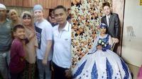 Samra dan Triston saat menikah (Sumber: filipinotimes)