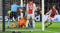 Real  Madrid akan hadapi Ajax Amsterdam di 16 besar Liga Champions (EMMANUEL DUNAND / AFP)