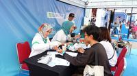Klik Dokter menghadirkan konsultasi dan pemeriksaan kesehatan gratis di JICOMFEST 2019.
