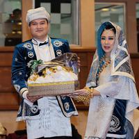 Chikita Meidy menikah. (Deki Prayoga/Bintang.com)