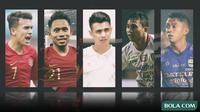 Kolase - 5 Pemain Timnas Indonesia Berkemampuan seperti Pemain Dunia (Bola.com/Adreanus Titus)