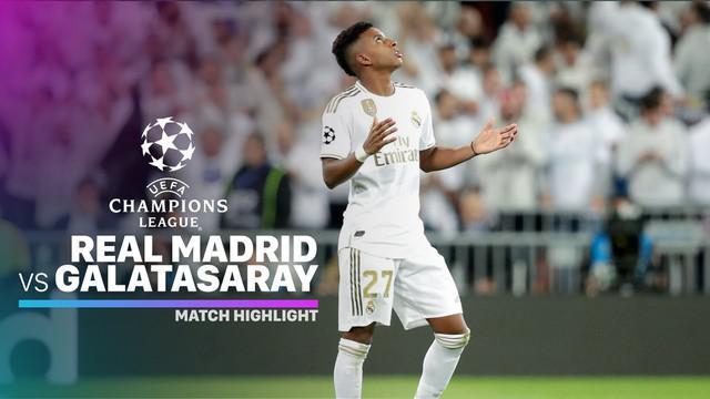 Berita video highlights matchday 4 Grup A Liga Champions 2019-2020 antara Real Madrid melawan Galatasaray yang berakhir dengan skor 6-0, Rabu (6/11/2019).