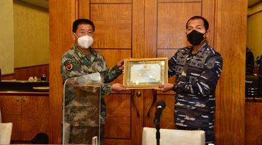 TNI AL Terimakasih Kepada PLA Navy Dalam Upaya Salvage KRI Nanggala-402.
