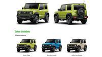 All new Suzuki Jimny. (Suzuki)
