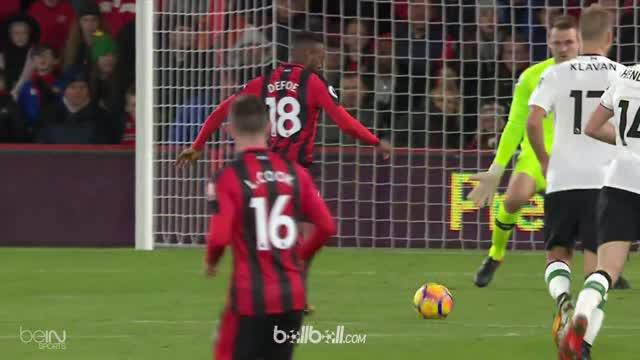 Berita video highlights Premier League antara Bournemouth vs Liverpool 0-4. This video is presented by Ballball.