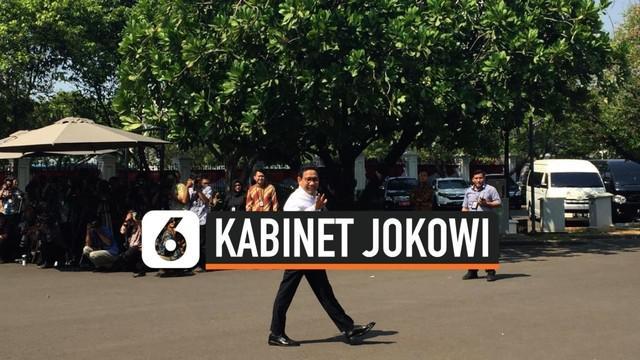 Abdul Halim Iskandar tiba di Istana Kepresidenan pada Selasa (22/10/2019) pukul 13.48 WIB. Ia adalah politikus PKB yang merupakan anggota DPRD Jawa Timur.