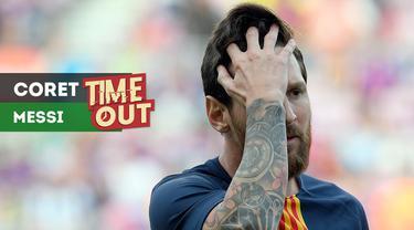 Berita video Time Out kali ini tentang fakta-fakta terkait Lionel Messi yang tidak masuk dalam daftar finalis pemain terbaik dunia 2018 dari FIFA.