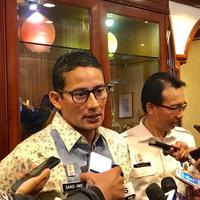Wakil Gubernur DKI Jakarta Sandiaga Uno (Liputan6.com/ Yunizafira Putri)