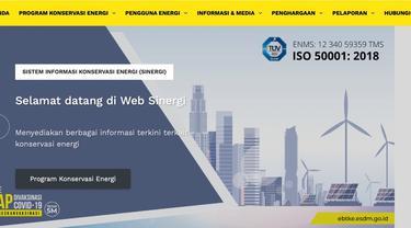 SINERGI, Sistem Informasi Terlengkap Konservasi Energi Besutan Ditjen EBTKE