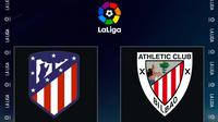 La Liga - Atletico Madrid Vs Athletic Bilbao (Bola.com/Adreanus Titus)