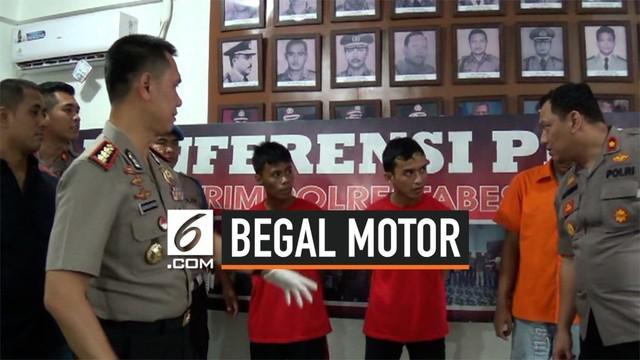 Polrestabes Medan berhasil meringkus lima dari enam tersangka komplotan begal yang selalu beroperasi dikawasan Kota Medan.