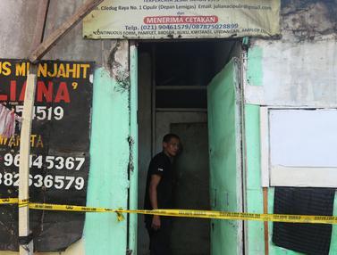 Kebakaran Ruko di Cipulir, Pasutri Lansia Ditemukan Tewas