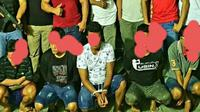 Para pelaku ditangkap berdasarkan laporan di Polres Gorontalo, Polda Gorontalo. .
