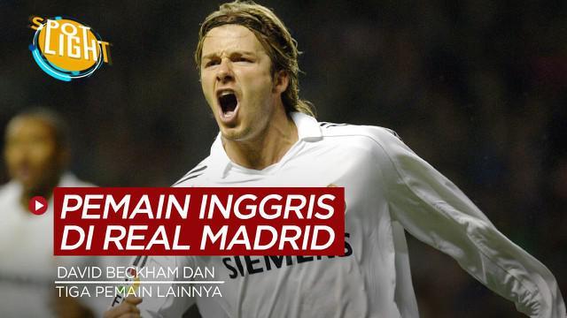 Berita video spotlight kali ini membahas tentang deretan pemain Inggris yang pernah bermain di Real Madrid.