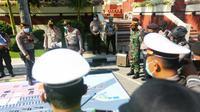 Sebanyak 914 personel gabungan TNI dan Polri disiagakan untuk mengantisipasi demo UU Cipta Kerja oleh sejumlah elemen masyarakat, Kamis, (22/10/2020). (Foto: Dok Istimewa)