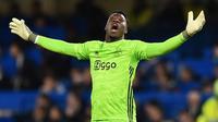 Kiper Ajax Amsterdam, Andre Onana. (AFP/Glyn Kirk)