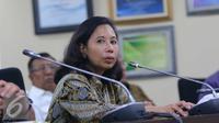 Menteri BUMN Rini Sumarno.(Liputan6.com/Angga Yuniar)