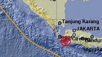 Ilustrasi gempa Banten. (Liputan6.com/Muhamad Ali)