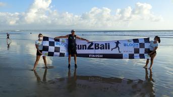 Pelari 60 Tahun Sukses Selesaikan Maraton Jakarta ke Bali