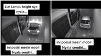 Alarm Mobil yang Lagi Parkir di Garasi Ini Nyala Sendiri, Videonya Bikin Merinding (Sumber: TikTok/zelina_azman)