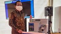 EMTEK Peduli Corona Diwakilkan Ketua Umum YPP, Bapak Imam Sudjarwo Yang Juga Selaku Direktur Utama Indosiar Menyalurkan Kontribusi Donasi Melalui Kemenristek (Emtek)