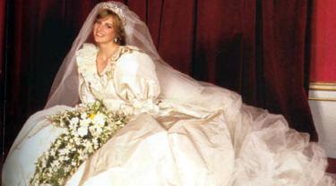 Gaun Pernikahan Putri Diana