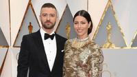 Justin Timberlake dan Jessica Biel (AP)