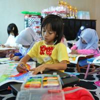 Komunitas Teman Main bantu kurangi frekuensi bermain gadget pada anak. (Sumber foto: Adrian Putra/FIMELA.com)