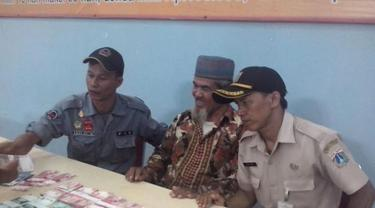pengemis Muklis di Dinas Sosial Jakarta