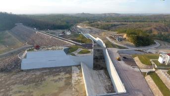 Tengah Diisi Air, Jokowi Resmikan Bendungan Gongseng Desember 2021