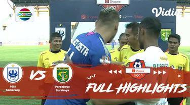 Berita Video Highlights Shopee Liga 1 2019, Persebaya Kalahkan PSIS 4 Gol Tanpa Balas