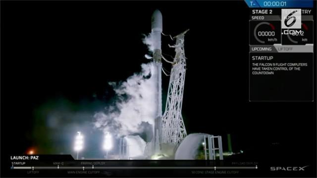 SpaceX luncurkan dua satelit melalui roket Falcon 9 upaya menyediakan internet super cepat dan murah bagi penduduk bumi