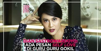 LADY BOSS: Dian Sastrowardoyo Tebarkan Pesan Self Love di Film Guru Guru Gokil