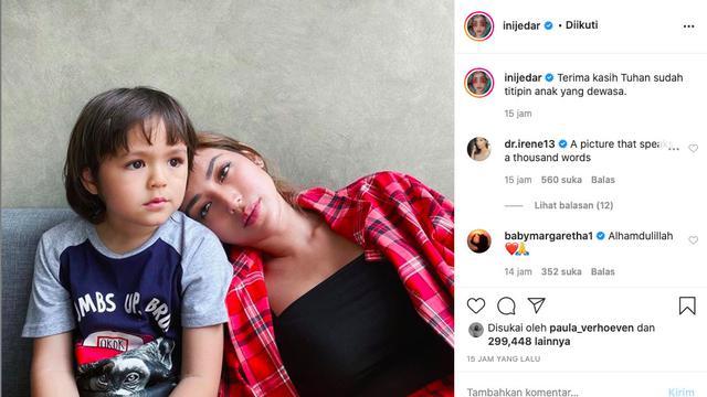 Unggahan Jessica Iskandar