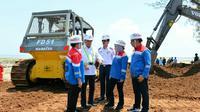 Proyek pembangunan kilang minyak PT Pertamina di Tuban. Dok Kemenhub