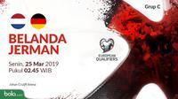 Kualifikasi Piala Eropa 2020 - Belanda Vs Jerman (Bola.com/Adreanus Titus)