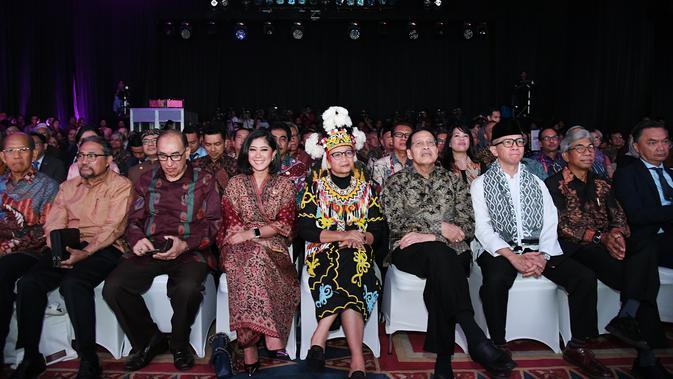 Menlu Retno Marsudi bersama dengan jajaran tamu undangan di acara PPTM 2020.(Foto: Kemlu RI)