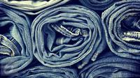 Ilustrasi Foto Bahan Jeans (iStockphoto)