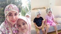 Arumi Bachsin dan Kedua Anaknya (Sumber: Instagram/arumi_arumi_94)