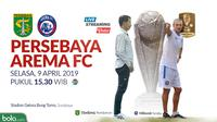 Final Piala Presiden 2019 Persebaya Surabaya Vs Arema FC Head to Head (Bola.com/Adreanus Titus)