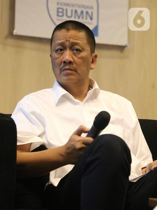 Komut dan Dirut Paparkan Semangat Baru Garuda Indonesia