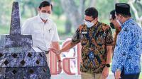 Rapat koordinasi lintas kementerian dan lembaga terkait pembangunan kawasan Borobudur terintegrasi dengan Joglosemar. (dok. Biro Humas dan Komunikasi Publik Kemenparekraf)