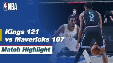 Berita Video Highlights NBA, Sacramento Kings Permalukan Tuan Rumah Dallas Mavericks 121-101 (19/4/2021)