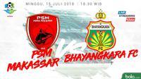 Liga 1 2018 PSM Makassar Vs Bhayangkara FC (Bola.com/Adreanus Titus)