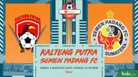 Shopee Liga 1 - Kalteng Putra Vs Semen Padang FC (Bola.com/Adreanus Titus)